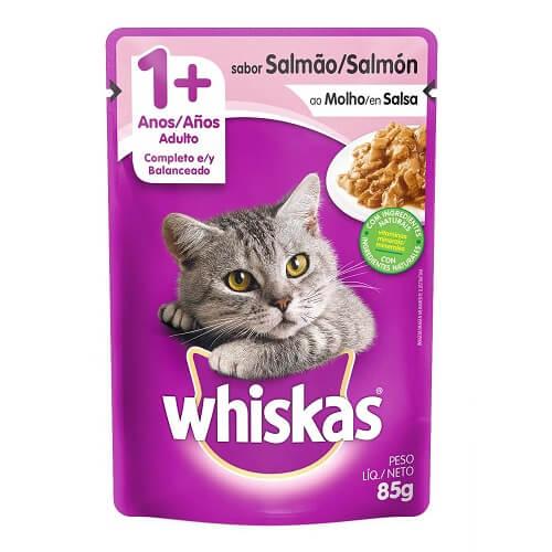 85gr - Gato Adulto Salmon / Whiskas