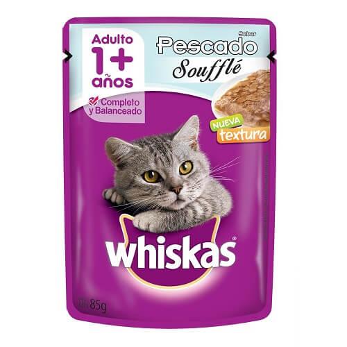 85gr - Souffle Gato Adulto Pescado / Whiskas