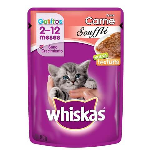 85gr - Souffle Gatito Carne / Whiskas