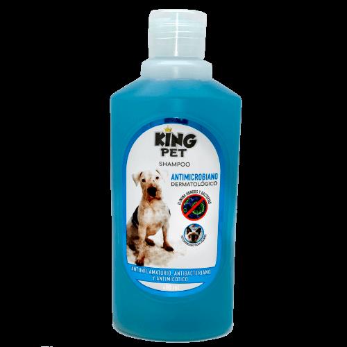 400ml - Shampoo Anti Hongo Con Clorhexidina / King Pet