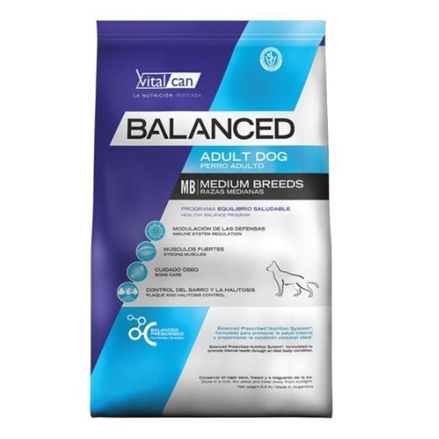 20Kg - Adulto Raza Mediana / Balanced