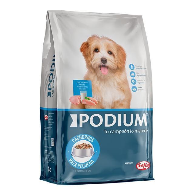 2.8Kg - Cachorro Raza Pequeña / Podium