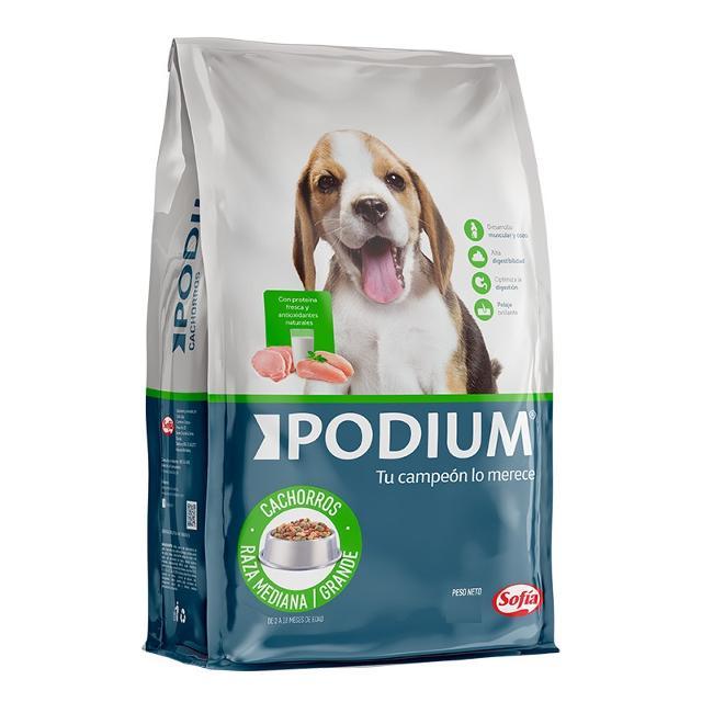 2.8Kg - Cachorro Raza Mediana y Grande / Podium