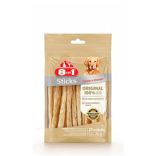 70gr - Sticks de Carne 20 Unidades / 8 en 1