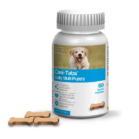 100 Tabletas - Suplementos Para Cachorros / Cani Tabs