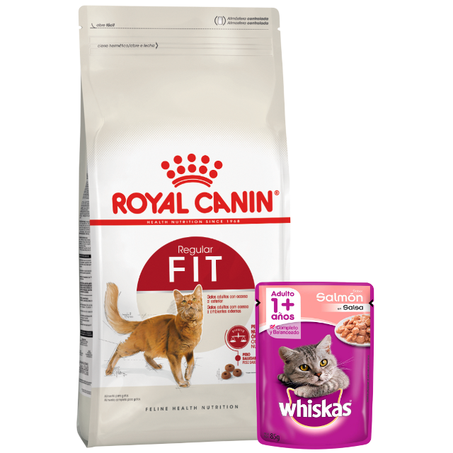 7.5Kg - Gato Fit / Royal Canin