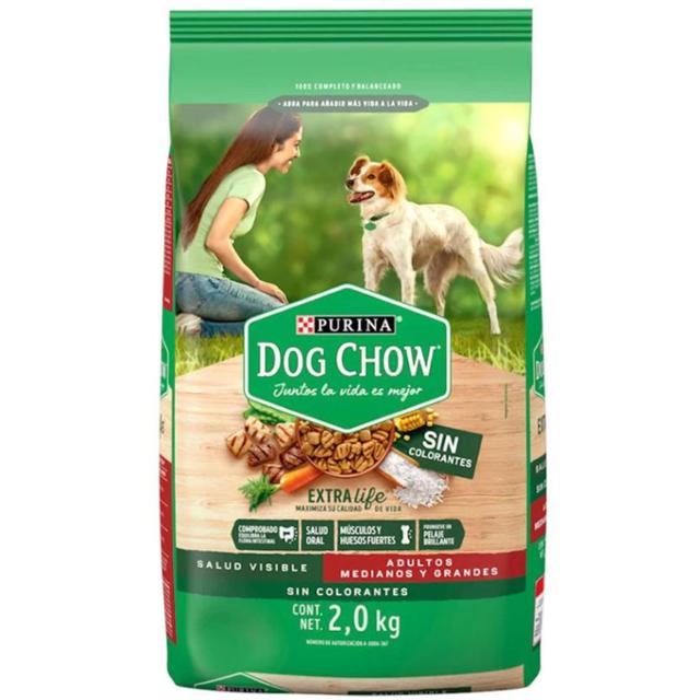 3Kg - Adulto Raza Med. Y Grande / Dog Chow