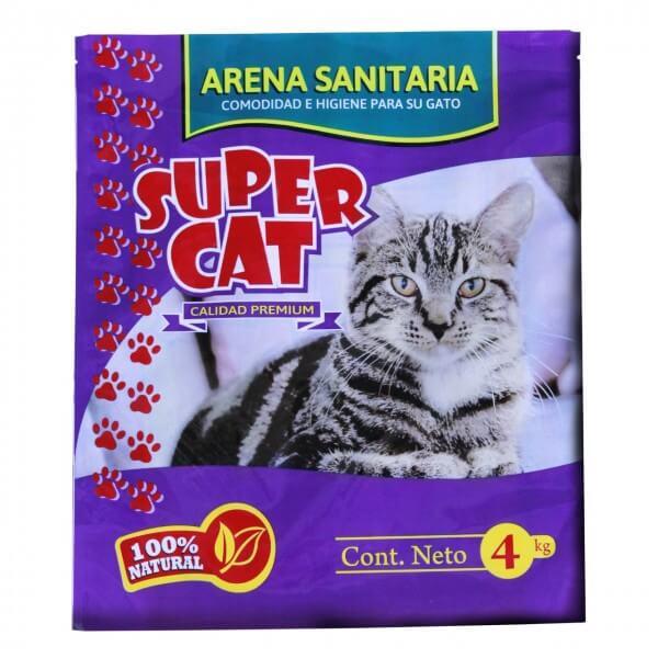 4Kg - Arena Sanitaria Piedritas / Super Cat
