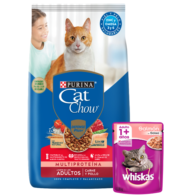 15Kg - Adulto Sabor Carne / Cat Chow