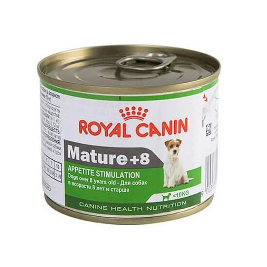 195gr - Mini Mature +8 Años Humedo / Royal Canin