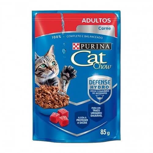 85gr - Adulto Sabor Carne / Cat Chow