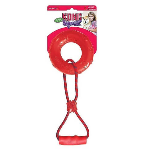 Mediano - Squeezz Ring With Handle Assorted / Kong
