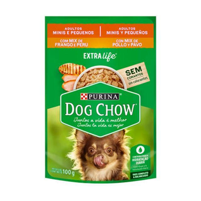 100gr - Raza Pequeña Pavo y Pollo / Dog Chow