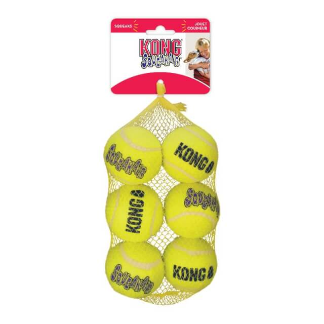 Mediano - SqueakAir Balls 6 Unidades / Kong