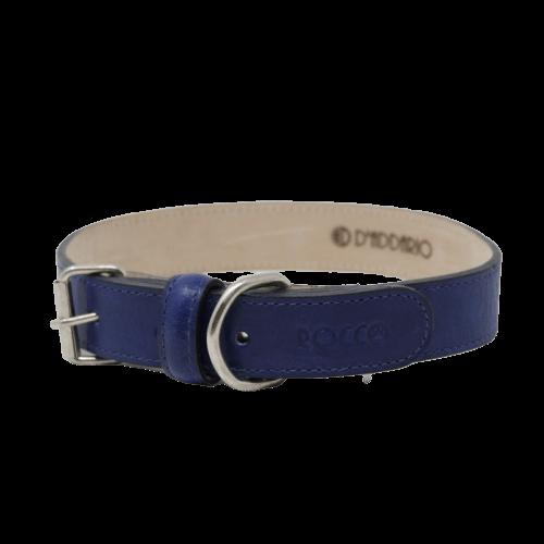 Cuello de 55 a 65cm - Collar Extra Grande Azul Marino / Rocco
