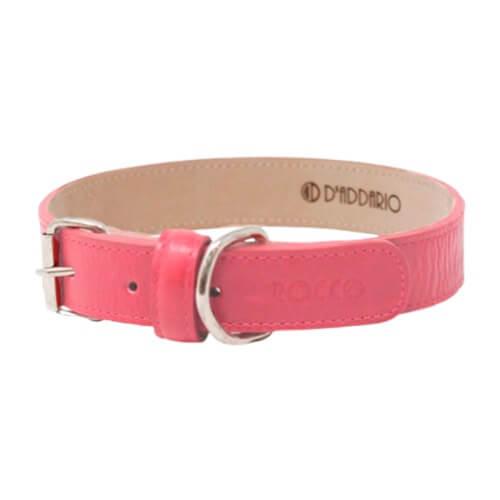 Cuello de 35 a 45cm - Collar Mediana Rosado / Rocco