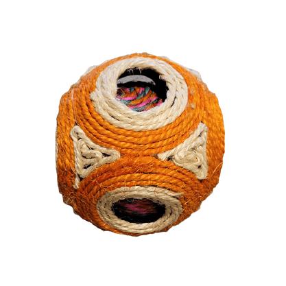 11cm - Pelota Rascador Naranja / Animal Planet