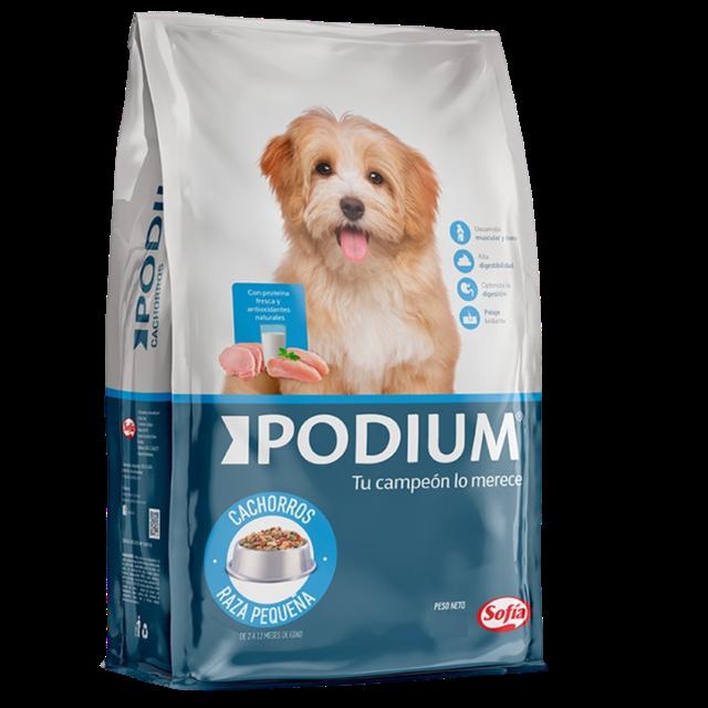 8Kg - Cachorro Raza Pequeña / Podium