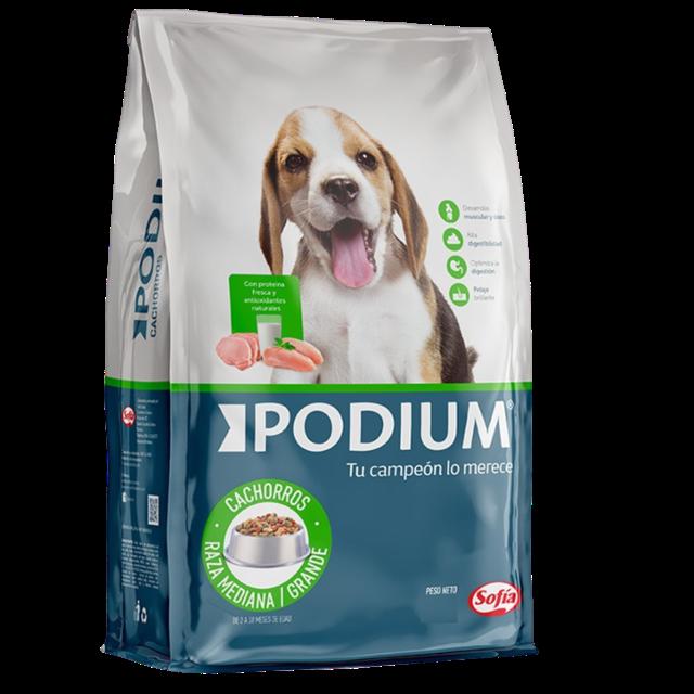 8Kg - Cachorro Raza Mediana y Grande / Podium