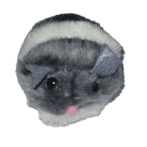 Gris - Raton Retractil /Lili Mascota