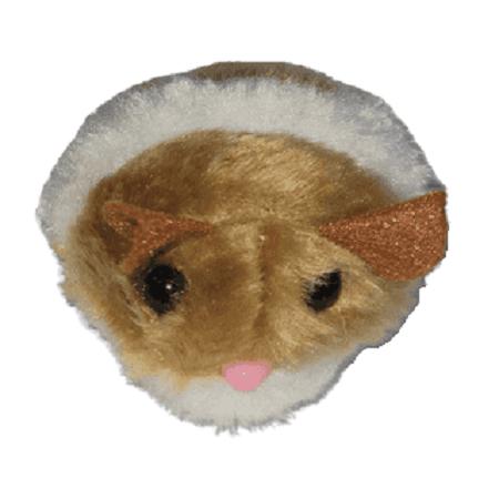 Marron - Raton Retractil /Lili Mascota