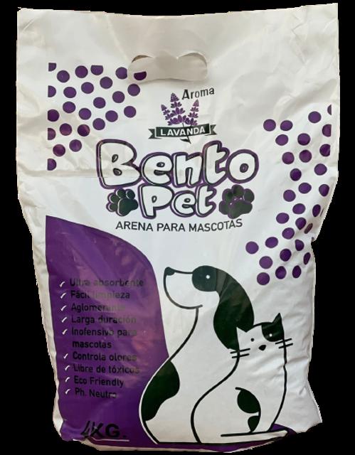 4kg - Arena Sanitaria Lavanda / Bento Pet