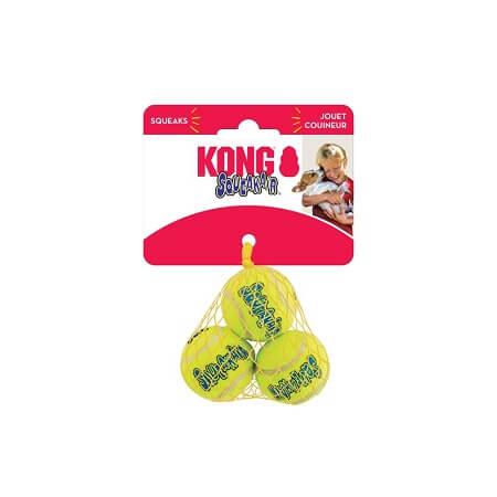 Mediano - SqueakAir Balls (3 Unidades) / Kong