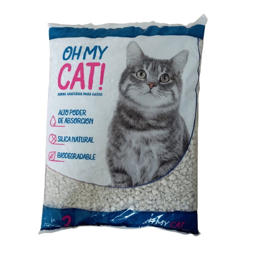 2kg - Arena Sanitaria Piedritas / Oh My Cat