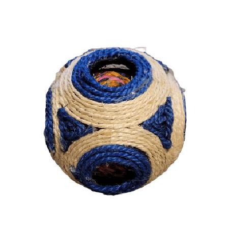 11cm - Pelota Rascador Azul / Animal Planet