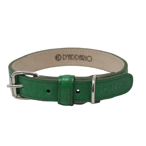Cuello de 55 a 65cm - Collar Extra Grande Verde / Rocco