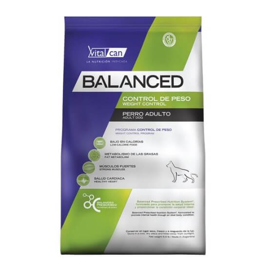 20Kg - Adulto Control De Peso / Balanced