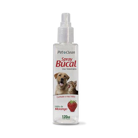 120ml - Spray Bucal Frutilla / Pet Clean