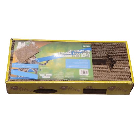 39x17cm - Rascador Con Catnip / Animal Planet