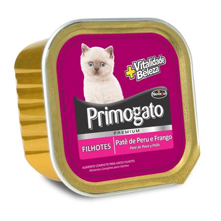 150gr - Pate Para Gatitos Pavo y Pollo / Primogato