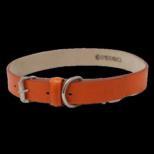 Cuello de 55 a 65cm - Collar Extra Grande Naranja / Rocco
