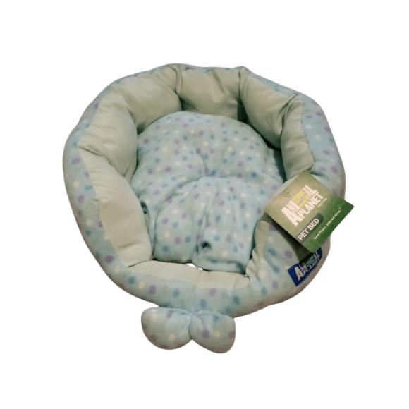 45x40 cm - Cama Pequeña Celeste / Animal Planet
