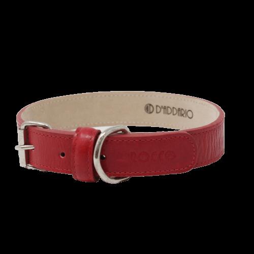 Cuello de 55 a 65cm - Collar Extra Grande Rojo / Rocco