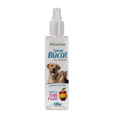 120ml - Spray Bucal Tutti Frutti / Pet Clean