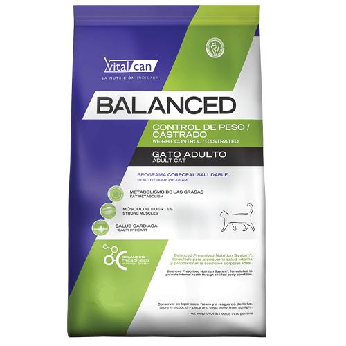 7.5Kg - Castrado y Control de Peso Gato / Balanced