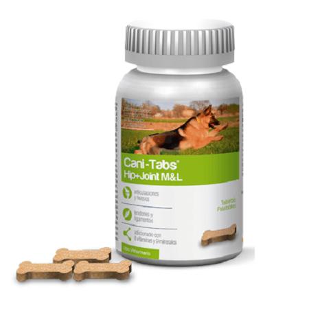 100 Tabletas - Problemas de Articulacion Raza Med. y Grande / Cani Tabs