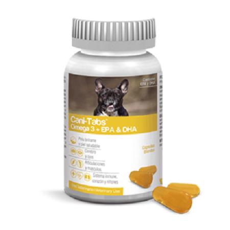 100 Tabletas - Omega 3 Piel, Pelo y Corazon / Cani Tabs