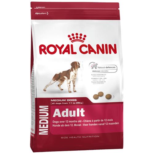 15kg - Medium Adult / Royal Canin