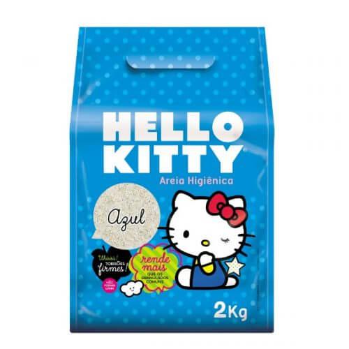 2kg - Arena Sanitaria Azul / Hello Kitty