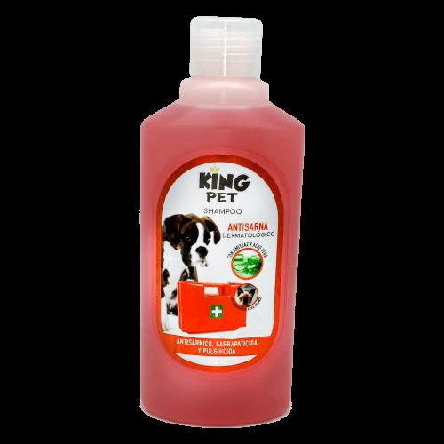 400ml - Shampoo Anti Sarnico Pulguicida y Garrapaticida / King Pet