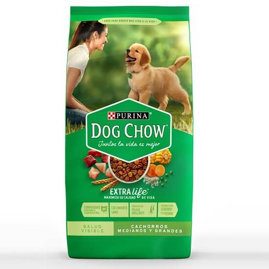 8Kg - Cachorro Raza Med. Y Grande / Dog Chow