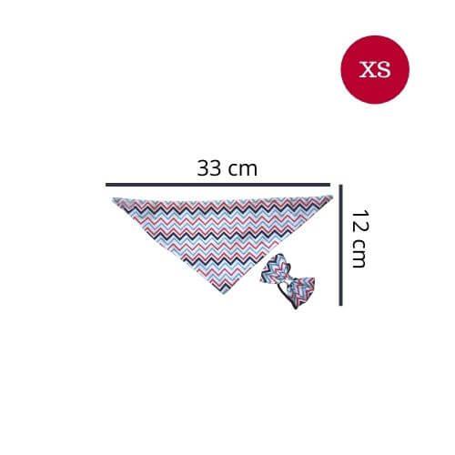 XS - Zigzag / Bandanas World