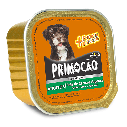 300gr - Pate De Carne y Vegetales / Primocao