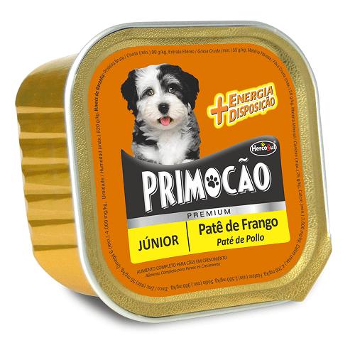 300gr - Pate Para Cachorro De Pollo / Primocao