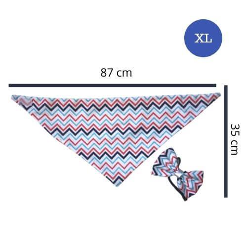 XL - Zigzag / Bandanas World
