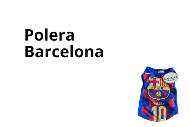 Polera Barcelona